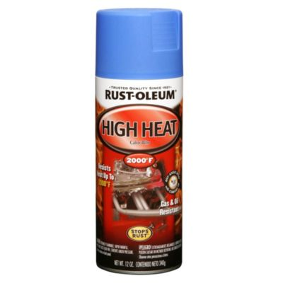 Esmalte en aerosol Automotive alta temperatura azul 340 g