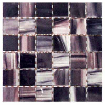Malla mosaico Óleo violeta