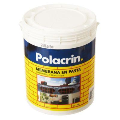 Membrana en pasta para techos blanco 4 l