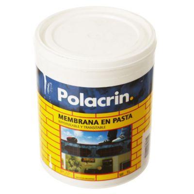 Membrana en pasta para techos blanco 1 l