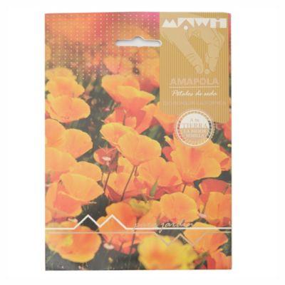 Semillas flores amapola