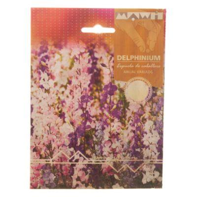 Semillas flores delphinium