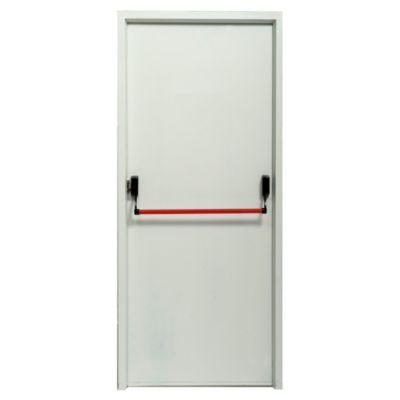 Puerta de chapa cortafuego 90 x 200 x 9,8 cm derecha