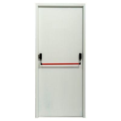 Puerta de chapa cortafuego 160 x 200 x 9,8 cm derecha