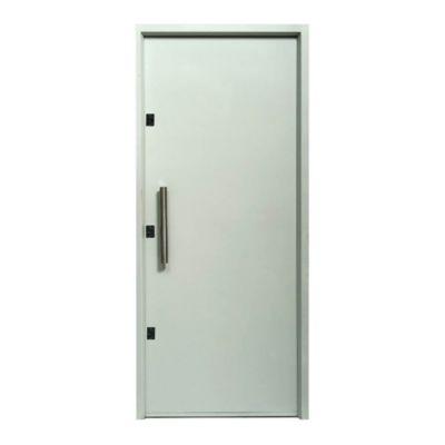 Puerta de chapa doble 90 x 200 x 9,8 cm derecha