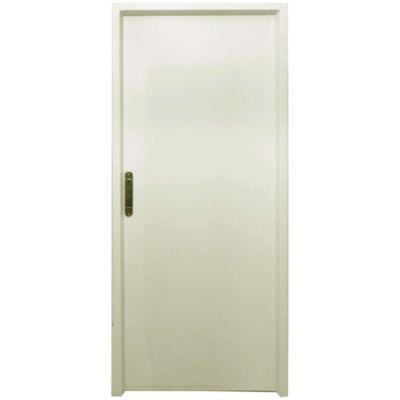Puerta de chapa doble 270 x 200 x 9,8 cm derecha