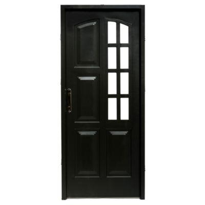 Puerta de chapa doble 240 x 200 x 9,8 cm derecha