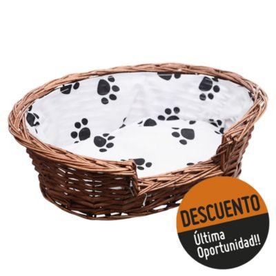 Cama para perro 47 x 14 cm de mimbre