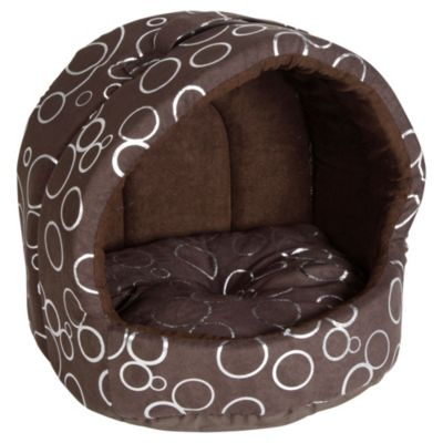 Cama para perro 30 x 33 x 30 cm chocolate