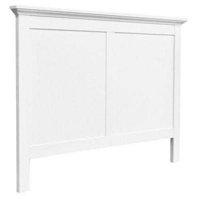 Respaldo paris 158 x 6,6 x 105 cm blanco