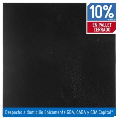 Baldosa autoadhesiva 30 x 30 cm Lisa negra 4.19 m²