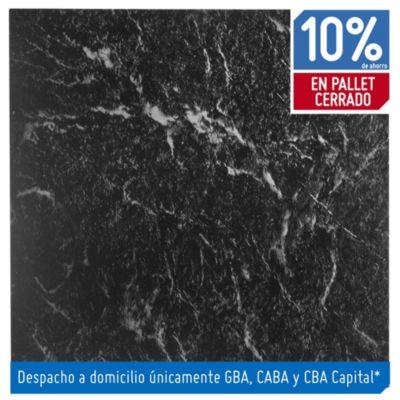 Baldosa autoadhesiva 30 x 30 cm Marmolada negra 4.19 m²