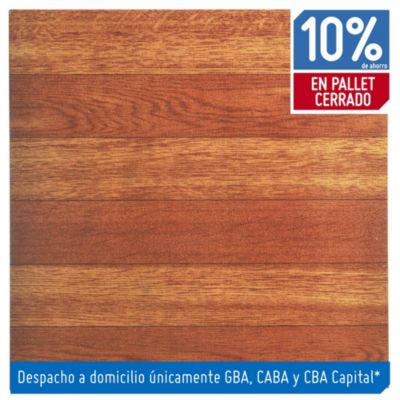 Baldosa autoadhesiva 30 x 30 cm Imitación madera 4.19 m²