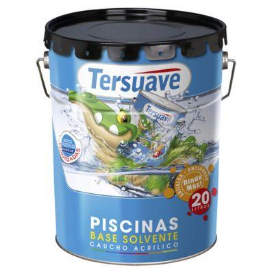 Pintura para piscina acuoso azul 20 l