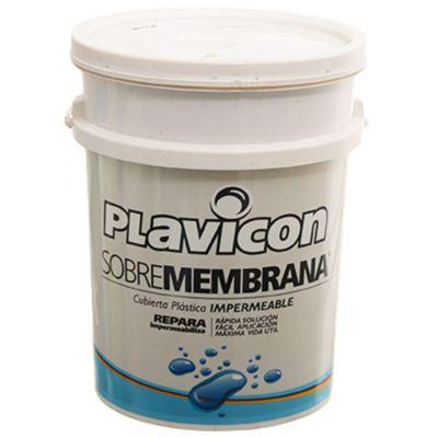 Impermeabilizante sobre membrana gris aluminio