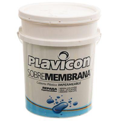 Impermeabilizante sobre membrana blanco 20 kg