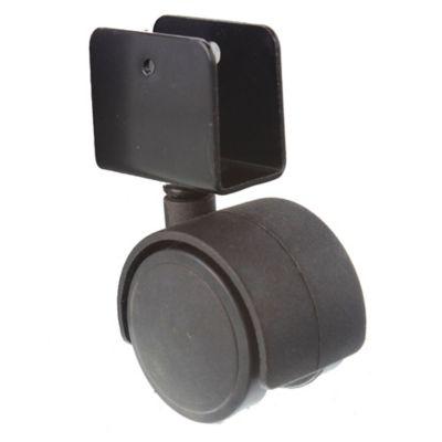 Rueda mueble 40 mm base u 16 mm