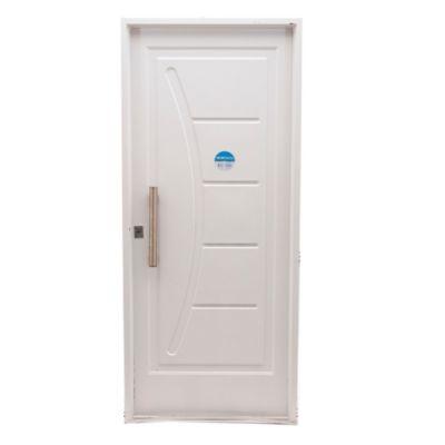 Puerta inyectada recta y curva 80 x 200 cm izquierda