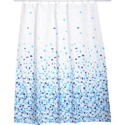 Cortina de baño costa azul 178 x 180 cm