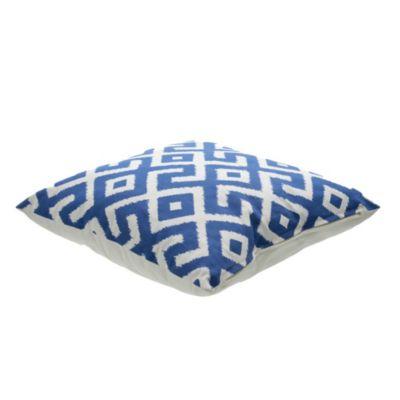 Almohadón 45 x 45 cm Geométrico Azul