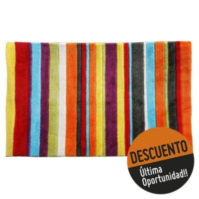 Alfombra multicolor 50 x 80 cm
