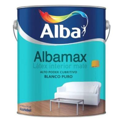 Pintura látex interior mate albamax blanco 20 l