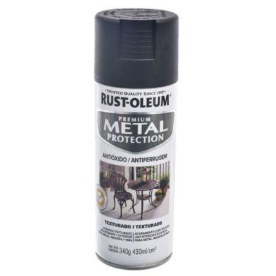 Esmalte antióxido protector Texturado negro 340 g