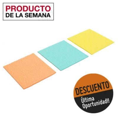 Paño esponja ultra absorbente por 3 u