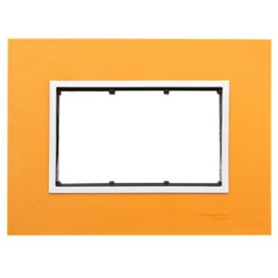 Frente + bastidor + marco orange