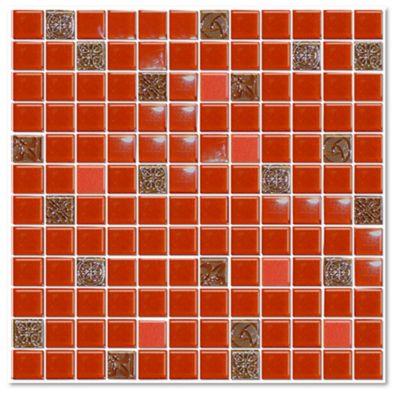 Malla mosaico lava