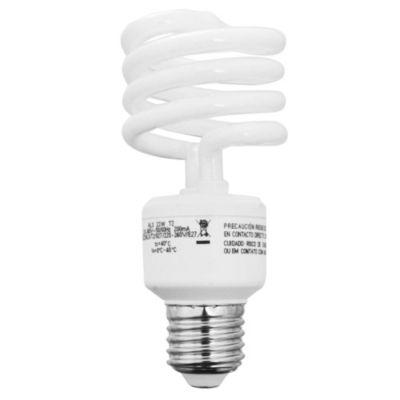Lámpara bajo consumo helicoidal 23w fría E27