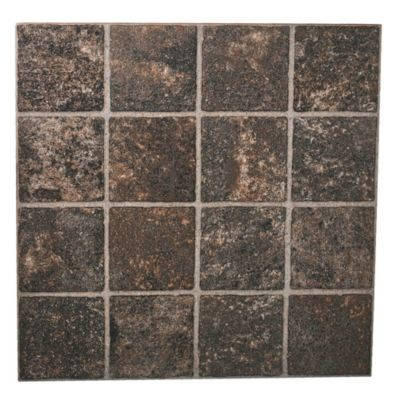 Cerámica 46 x 46 Porfido marrón 2.14 m²