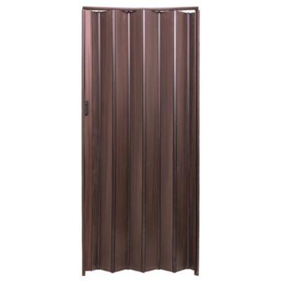 Puerta plegable wengue 85 x 200 cm derecha-izqu...