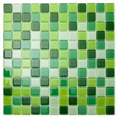 Malla mosaico 30 x 30 cm verde saigon