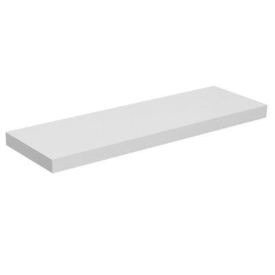 Estante flotante blanco 80 x 25 cm