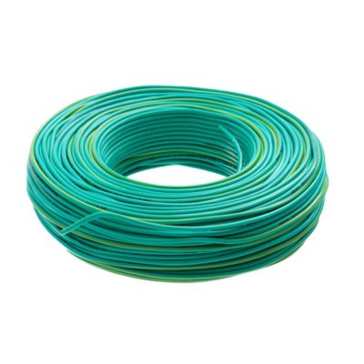 Cable unipolar 1.5 mm2 verde y amarillo 100 m