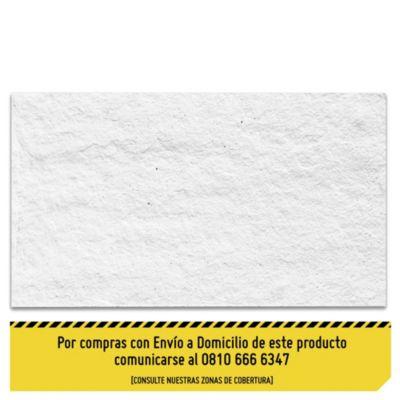 Revestimiento de piedra mar del plata blanco 19 x 39 cm