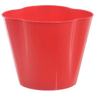 Maceta valeria 15 cm roja