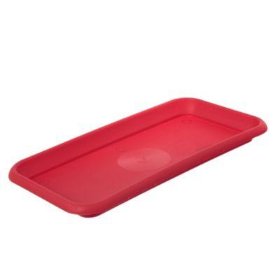 Plato jardínera denise 35 rojo