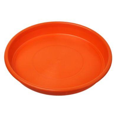 Plato 18 cm naranja