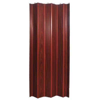 Puerta plegable simil cedro 95 x 200 cm