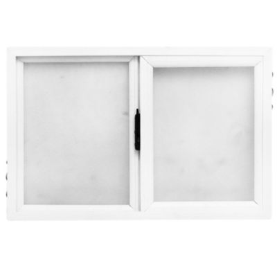 Ventana PVC corrediza 35 mm vidrio fantasía 60 x 40