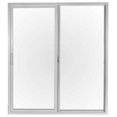 Ventana de PVC balcón blanca 150 x 200 x 9 cm alta prestación