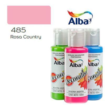 Acrílico rosa country 40 ml