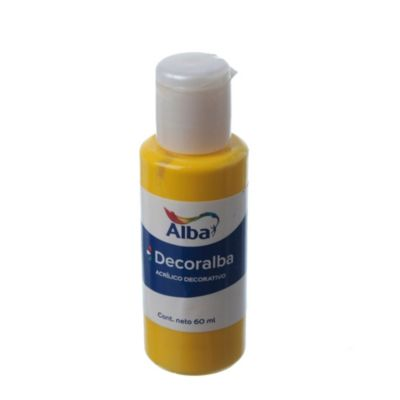 Acrílico amarillo brillante 40 ml