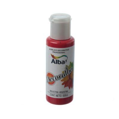 Acrílico rojo 40 ml