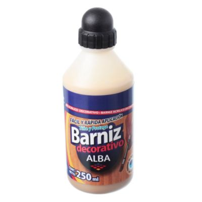Barníz acrílico roble 250 ml