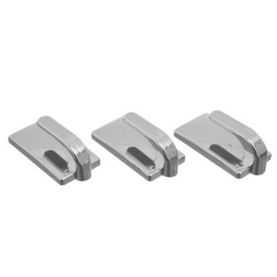 Gancho Autoadhesivo Rectangular x 3 Unidades Metal