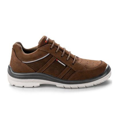 Zapatilla de seguridad horizon marrón