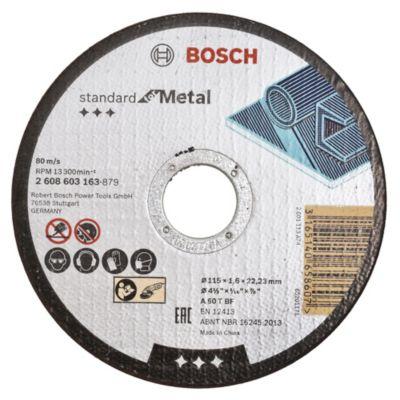 Disco corte metal acero inoxidable 115 x 1,6 mm